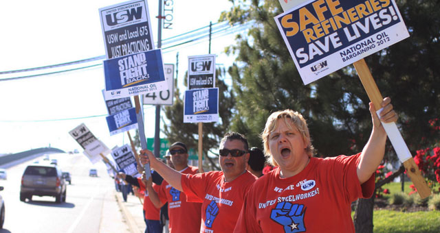 Labor Network for Sustainability Calls for Support for Oil Strikers