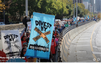 NYC Public Pension Funds Fossil Fuels Divestment Campaign