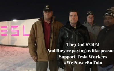 BREAKING: LNS Supports Tesla Workers