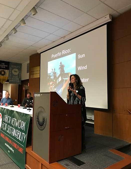 Northeast Regional Labor Convergence on Climate Change Displays Growing Size and Momentum of the Labor-Climate Movement