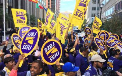 SEIU's 32BJ Supports the Green New Deal