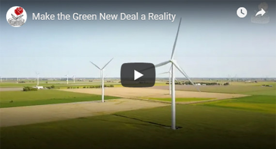 Detroit DSA Releases Video Supporting the  Green New Deal