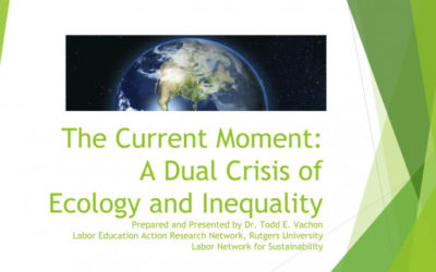 The Dual Crisis of Ecology and Inequality