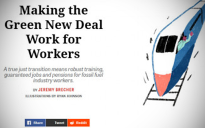 Making the Green New Deal Work for Workers