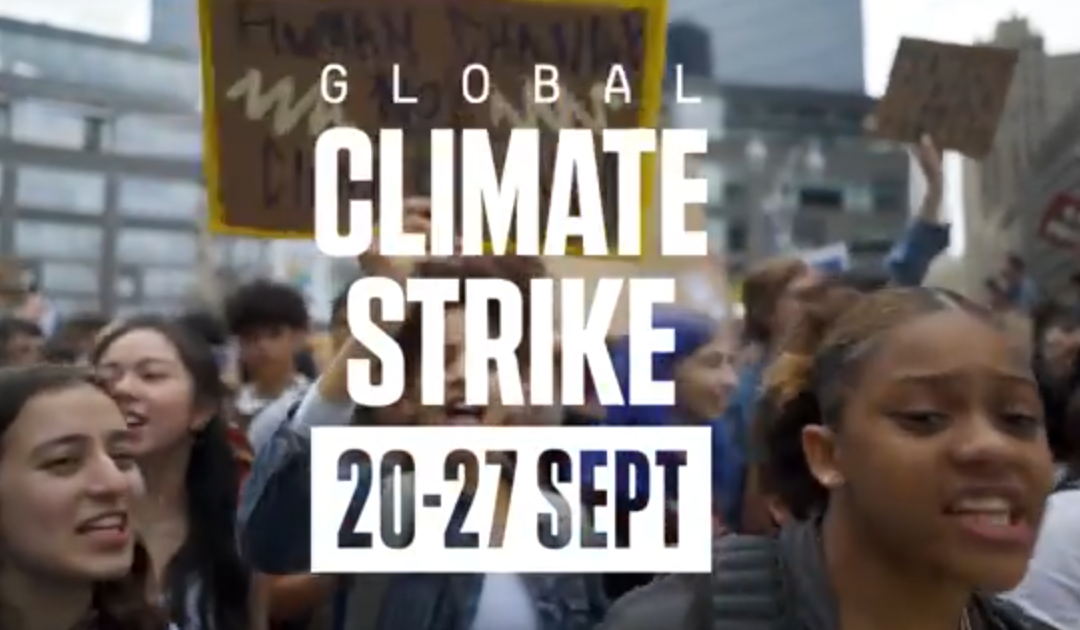 Workers to Join Student Climate Strikes September 20-27