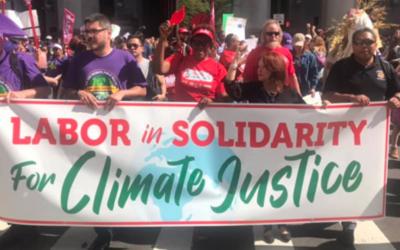 U.S. Unions Back the Climate Strike