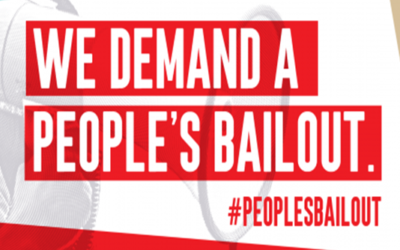 Take Action Now! Contact Your Legislators: Support the 5 Principles of a #PeoplesBailout!