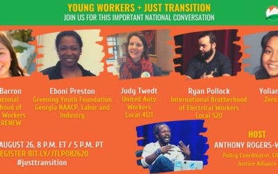 Young Workers and Just Transition