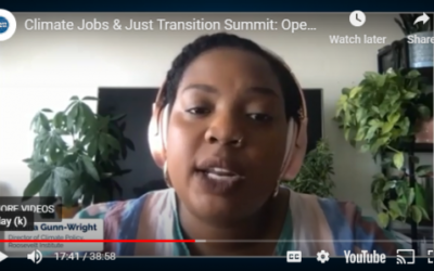 Climate Jobs and Just Transition