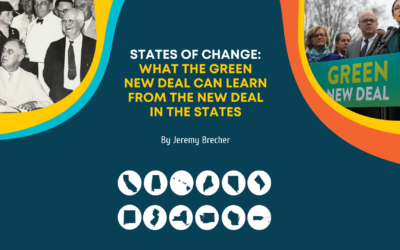 The Role of States in the New Deal – and the Green New Deal