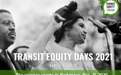 Mark Your Calendars: Transit Equity Days 2021